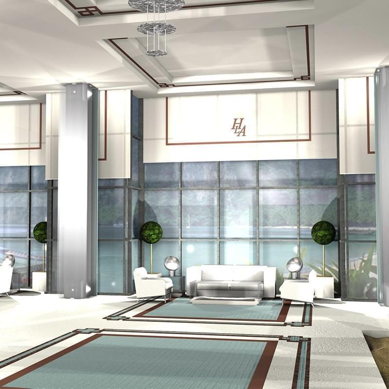 El concurso de interiorismo para los espacios generales del Hotel de 5 estrellas, Las Arenas, permitió investigar sobre la actualización de la arquitectura Modernista Valenciana, sus materiales e imágenes, para dotarlas de los avances tecnologicos de la Arquitectura actual. Las bañeras recuperadas del antiguo Balneario son el hilo conductor del diseño.